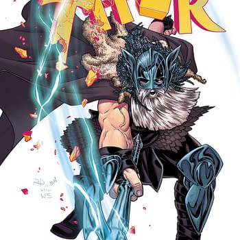 The Cover To Mighty Thor #20 Really Gives Away Who The War Thor Is&#8230 (SPOILERS)