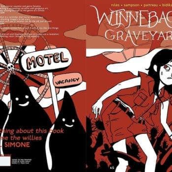 Winnebago Graveyard #1 Goes To Second Print, Regression #1 Goes To Third