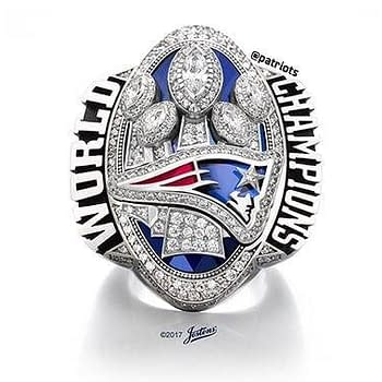 New England Patriots Super Bowl Ring Features 283 Diamonds
