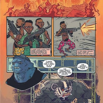 Teenage Mutant Congolese Child-Soldiers In TMNT Universe #11