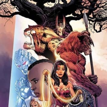 Liam Sharp Makes An Addition To Final Wonder Woman Cover