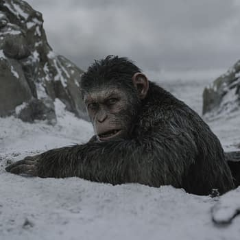 War For The Planet Of The Apes Clip Shows Caesar Confronting Colonel