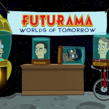 'Futurama: Worlds Of Tomorrow' Gets A Release Date For This Month