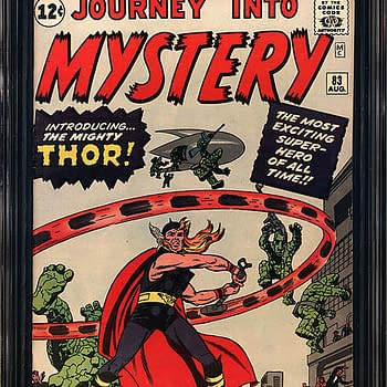 First Appearances Of Thor Already Over $20K On Comic Connect