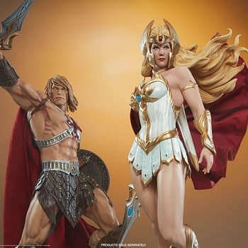 For The Honor Of Grayskull &#8211 Sideshow Unveils She-Ra Statue