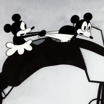Rare First Appearance Mickey Mouse Animation Art Up For Auction
