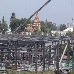 Latest Shots Of Disneyland's Star Wars Land Construction