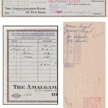 For Sale At Auction: The Check That Bought Superman