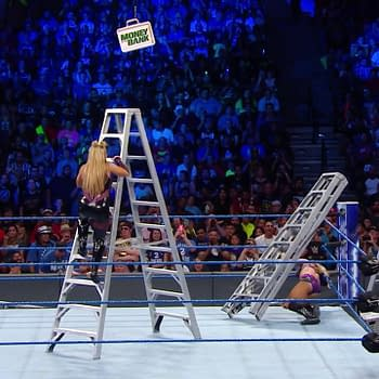 Who Will Be Victorious WWE Smackown Womens Ladder Match Round 2