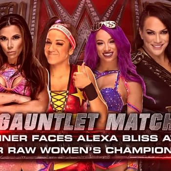 Sasha Banks Wins First-Ever WWE Womens Gauntlet Match Will Face Alexa Bliss