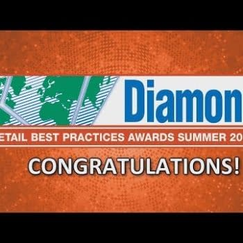 Announcing The Winners Of The 2017 Diamond 'Best Practice Awards' For Comic Retailers