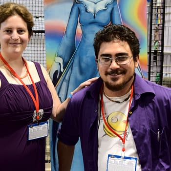 Robin And Cory Childs Talk New Series Wavemen At Denver Comic Con