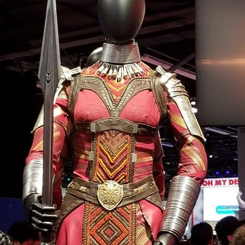Photos: Up Close And Personal With Costumes From 'Black Panther' At D23