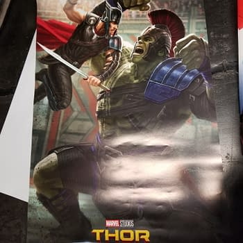 New Thor Ragnarok Poster Given Out At D23 On Show Floor