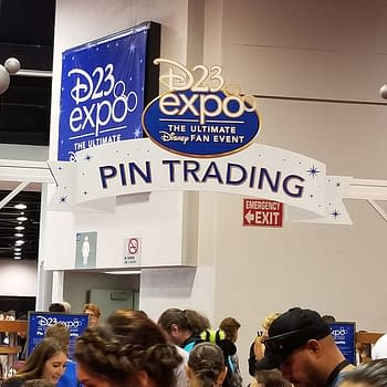 Pin Trading With The Next Generation Of Disney Fans At D23