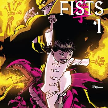 Kaare Andrews And Afu Chans Immortal Iron Fists With Teen Girl Iron Fist Available Now