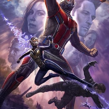 Ant-Man And The Wasp Official Poster By Andy Park