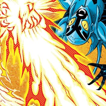 Blue Beetle #11 Review: Some Decent Moments But Essentially 22 Pages Of Text Walls