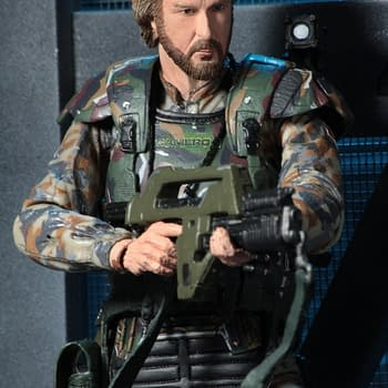 James Cameron Immortalized As Colonial Marine For NECA Aliens Figure