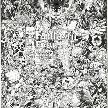 Lets All Look At An Art Adams Fantastic Four Commission