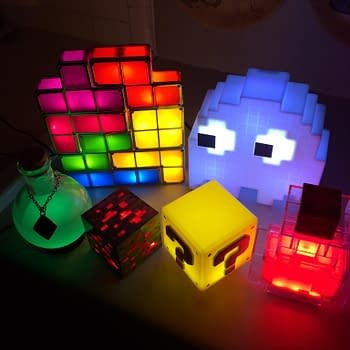Fortress Festoon: Think Geeks Lighting And Lamps For Gamers
