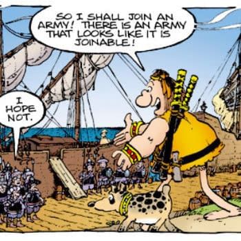 """The Mark, Sergio, Stan, And Tom Show SDCC Panel: """"Fancy Volumes"""" On The Way For Groo"""