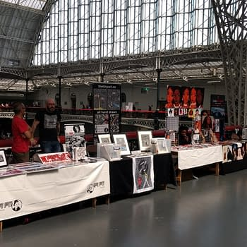 The Look Of London Film And Comic-Con From The Upper Gallery