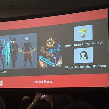 Marvels New East Asian Superhero Titles Sword Master And Aero Will Be Published In East Asian Countries First