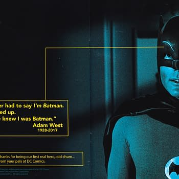 DC Comics Tribute To Adam West From Todays Comic Books
