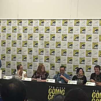 The Fine Line Between Fictional Fantasy And Unothorized Biographies At The Image Panel At SDCC