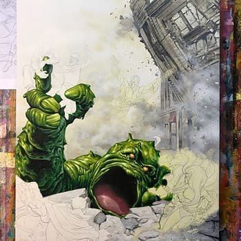 Joe Jusko Mashes Up Inhumans/Fantastic Four For Retailer Exclusive Cover