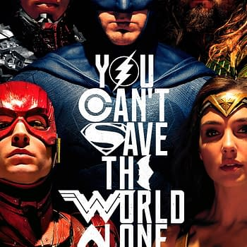 New Justice League Poster: You Cant Save The World Alone