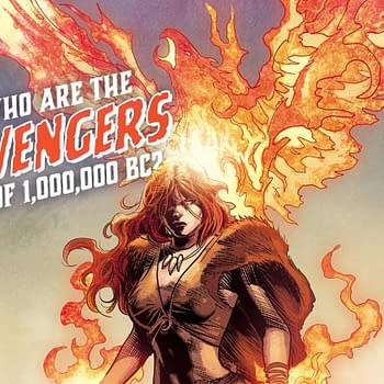 Meet Marvels 1000000 BC Avengers: Phoenix Iron Fist And Agamotto – A Modern Stone-Age Family
