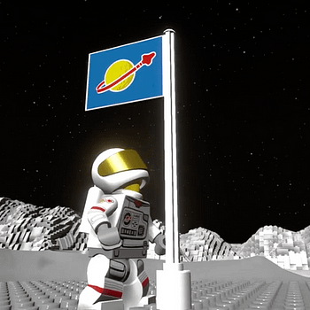 Lego Worlds Just Got Their New Classic Space DLC Today