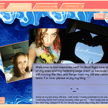 You Can Relive 2004 As A Teenager With Lost Memories Dot Net