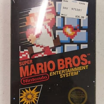 Mint Condition NES Copy Of Super Mario Bros. Sells For $30k
