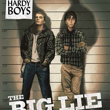 Writers Commentary &#8211 Anthony Del Col On Nancy Drew &#038 The Hardy Boys: The Big Lie #5