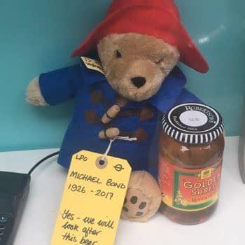 An Amazing Tribute To Late Paddington Bear Creator Michael Bond