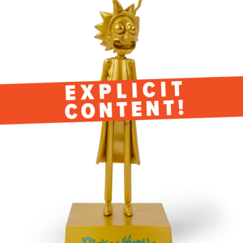 Rick Sanchez To Be A Golden God In SDCC Loot Crate Exclusive