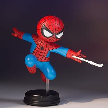 Gentle Giant Brings An Adorable Spider-Man Baby Statue To SDCC
