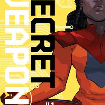 CBLDF's San Diego Exclusives – Erica Henderson's Secret Weapons #1 And William Gaines' Face On A Pin!