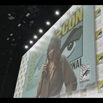 Watch Halle Berry Chug A Glass Of Whisky At San Diego Comic-Cons Kingsman Panel
