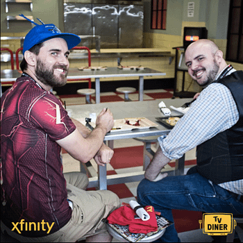 Xfinity TV Diners Or My Date With Dan Celko At SDCC 2017