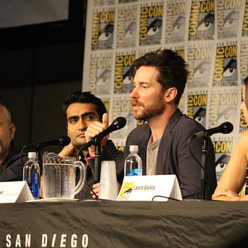 Middle Earth: Shadow of War Panel At SDCC With Troy Baker Laura Bailey And&#8230Kumail Nanjiani