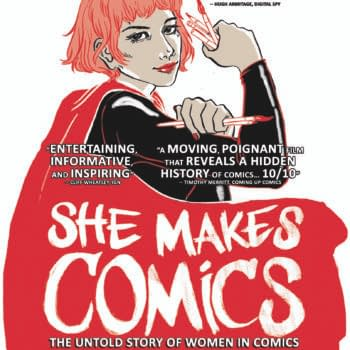 Ramona Fradon Spotlighted In Exclusive 'She Makes Comics' Clip Ahead Of Next Week's iTunes And VOD Release