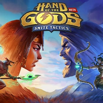 Smites Card Game Hand Of The Gods Is Now In Open Beta
