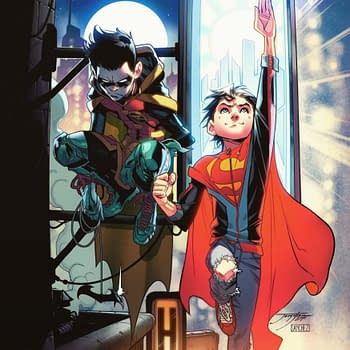 Super Sons Artist Jorge Jimenez Draws Young John Kent