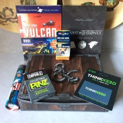 What's In The Box?!: ThinkGeek Capsule – July 2017