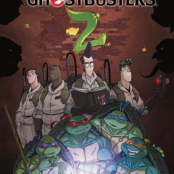 TMNT/Ghostbusters Comic Gets A Sequel For November With Crossover Toys In Target Stores