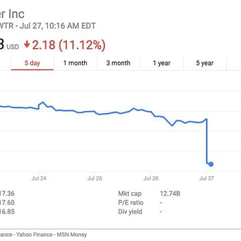 Nick Spencer Stops Tweeting So Much Twitter Stock Drops Dramatically